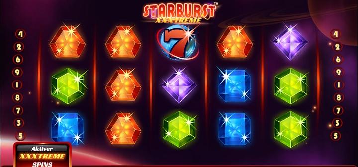 Starburst XXXtreme - spilleautomat hos Betsson